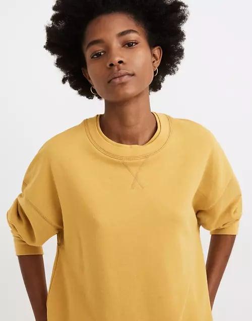 Madewell Double-Crewneck Sweatshirt