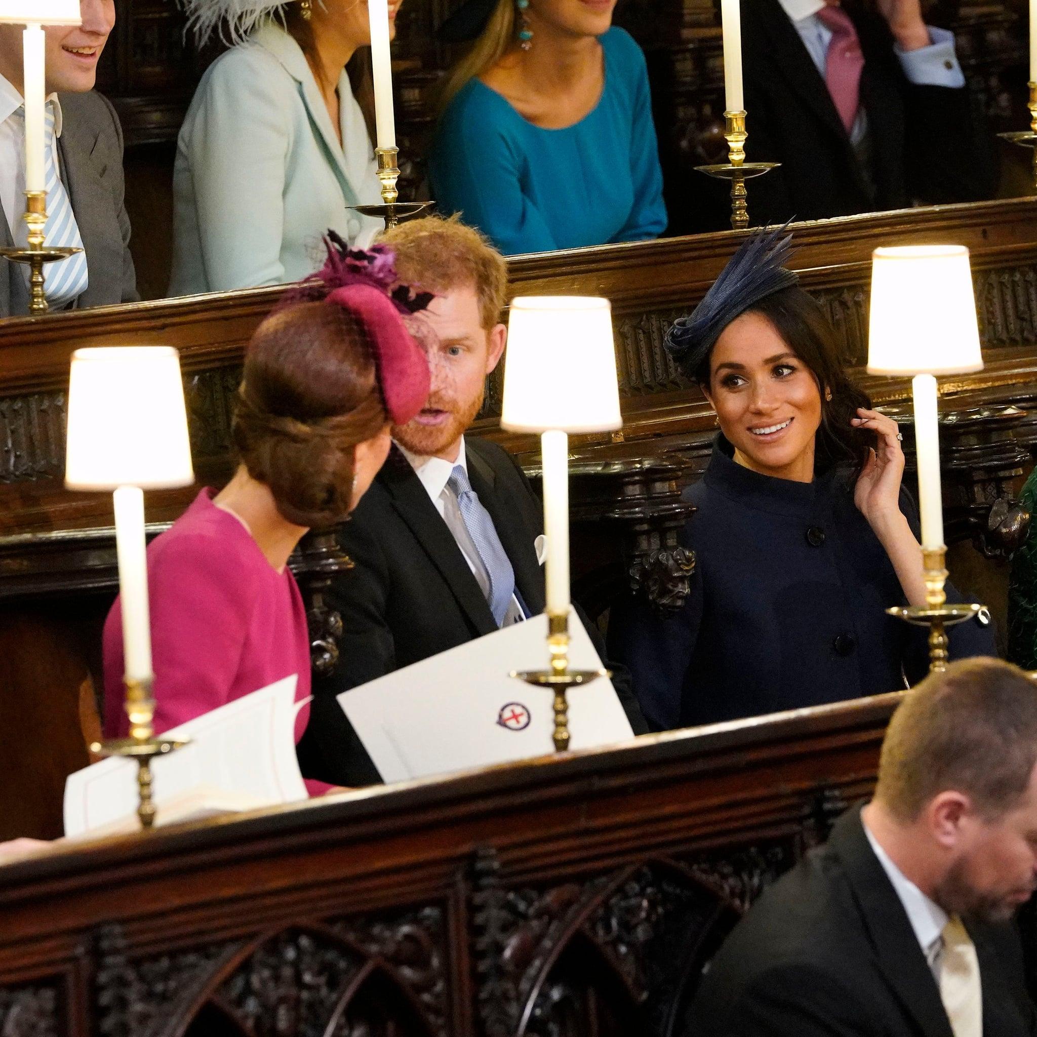 Meghan Markle At Princess Eugenie Royal Wedding T