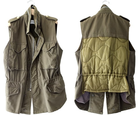 This military-inspired vest from Club Monaco's special capsule collection (inquire for price and store availability) is on the top of my lust list. The padding detail is an extra special touch and I can already imagine myself wearing this with just about anything. — Chi Diem Chau, associate editor