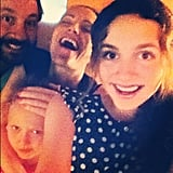 The Apatow family snapped a photo to celebrate the removal of Maude's braces! Source: Instagram user maude_apatow