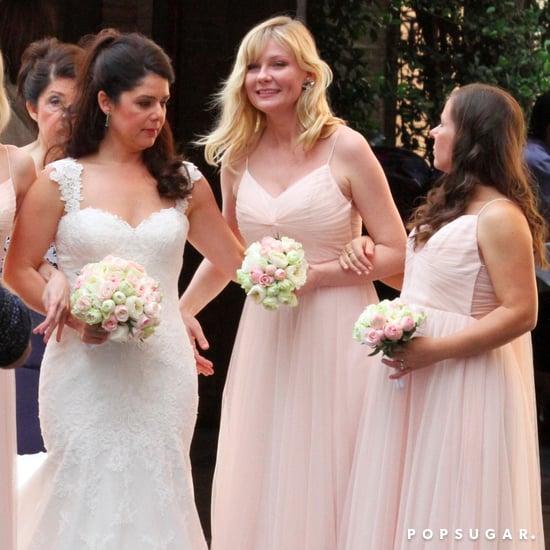 Kirsten Dunst Bridesmaid in Rome Pictures