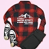 Winter Activity Adult Flannel