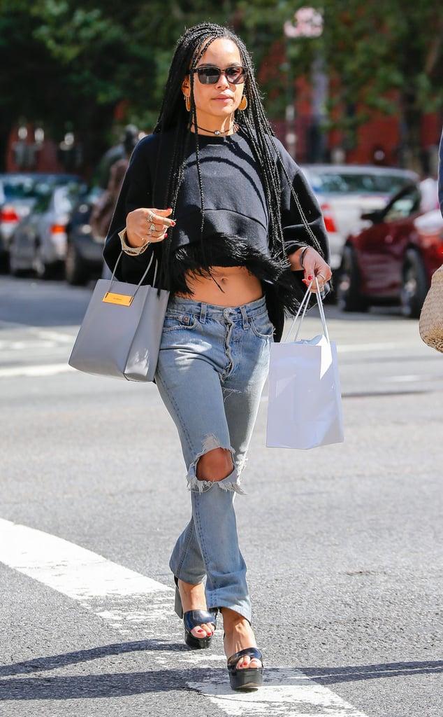 Zoe Kravitz Looks Like Her Mom, Lisa Bonet | Pictures