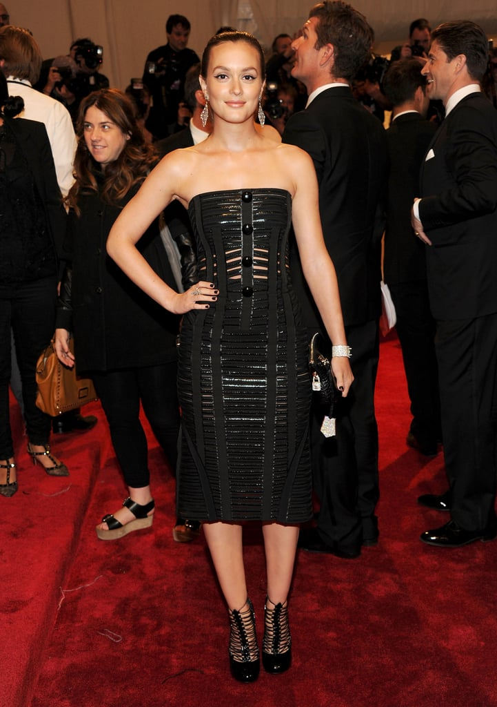 Leighton Meester in Louis Vuitton
