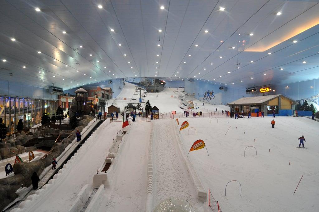 Go Skiing Indoors