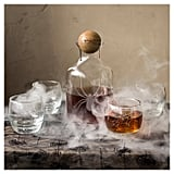 Halloween Spider Decanter and Tumblers