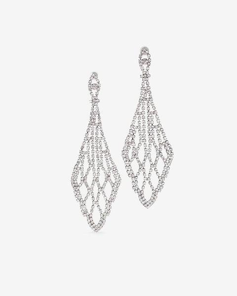 White house black market rhinestone chandelier earrings kendall white house black market rhinestone chandelier earrings aloadofball Images