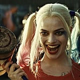 "Harley Quinn has that whole ""I'm batsh*t insane"" facial expression down pat."