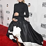Ciara Cradled Her Growing Baby Bump on the AMAs Red Carpet