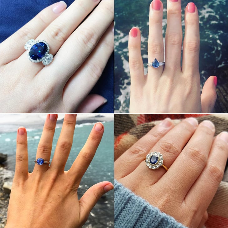 16 sapphire engagement rings that will make you feel anything but blue - Sapphire Wedding Rings