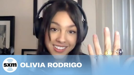 Olivia Rodrigo Reacts to Gift From Taylor Swift | Video