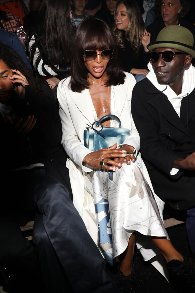 Naomi Campbell at the Off-White Paris Fashion Week Show