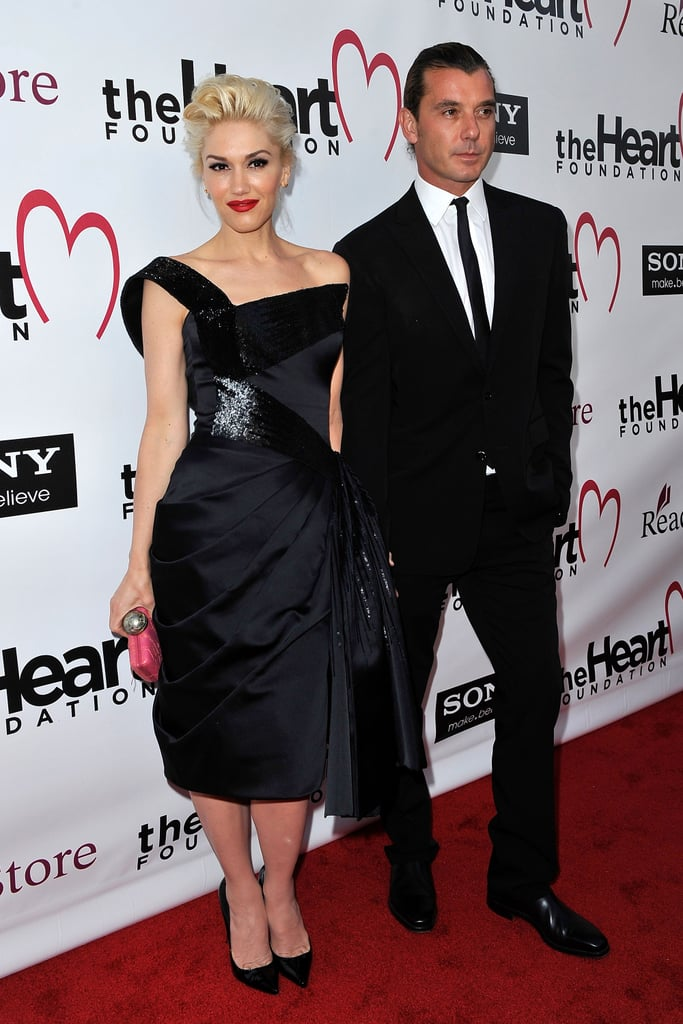 Gwen Stefani and Gavin Rossdale struck a pose.