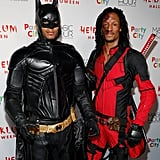 Les Twins as Batman and Deadpool