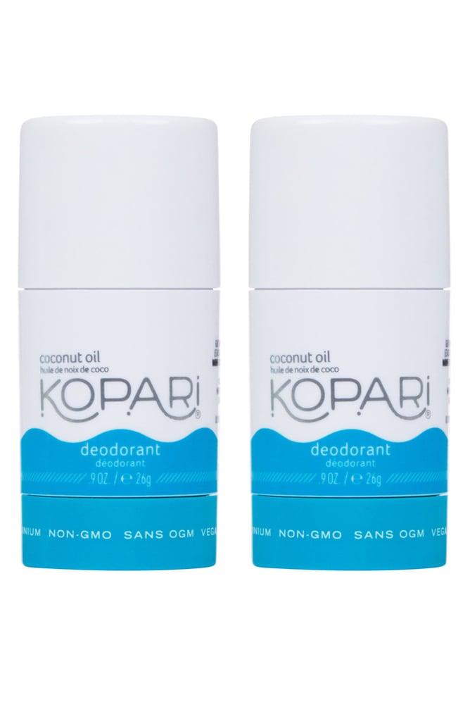 Kopari Mini Natural Coconut Deodorant Duo