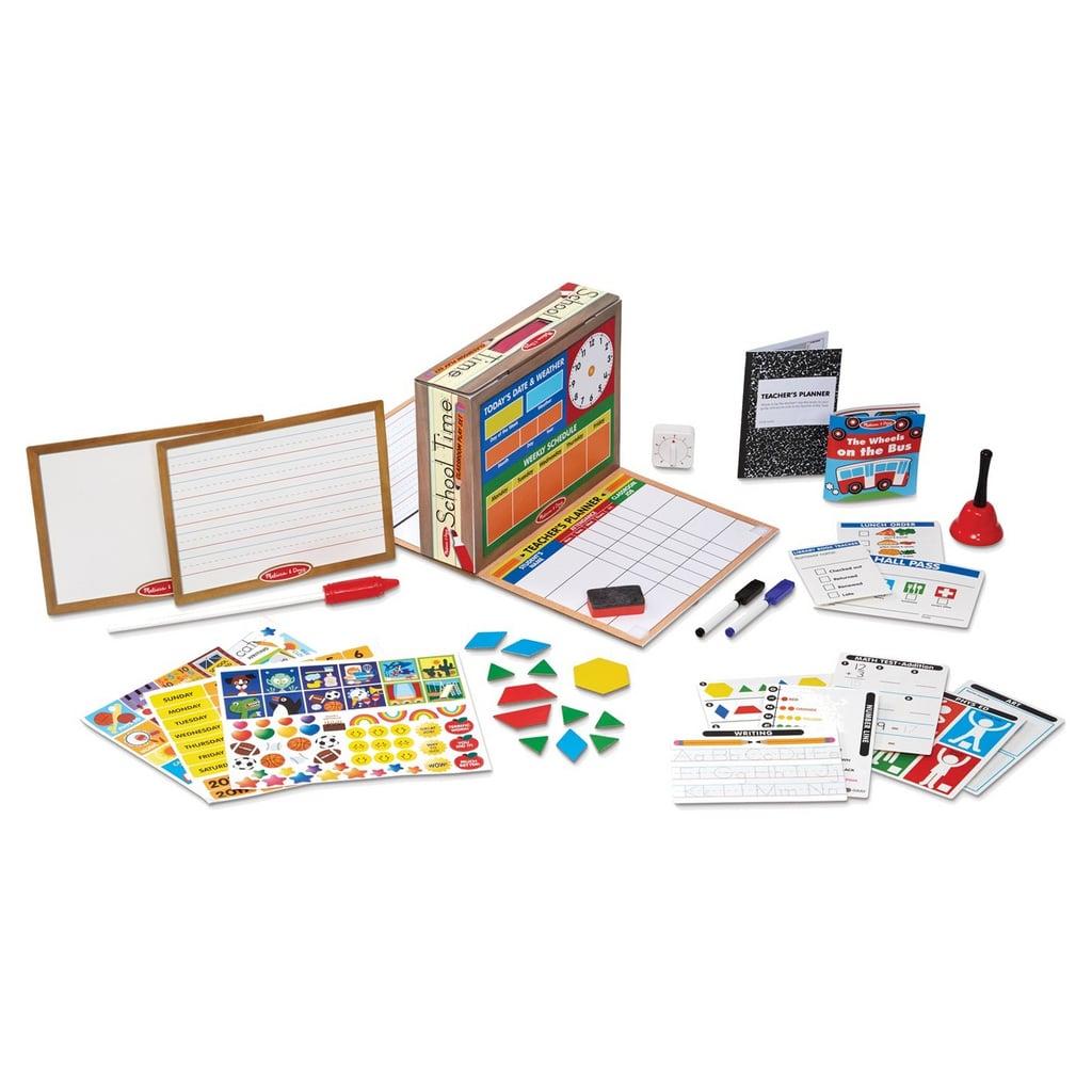 Melissa & Doug School Time! Classroom Play Set Game