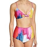 Mara Hoffman Carla Tie-Front Bikini