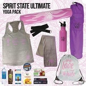 Spirit State Ultimate Yoga Pack Showbag ($30) Includes:  Yoga mat  Yoga bag  Drink bottle