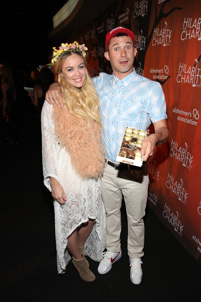 Justin Willman And Jillian Sipkins As Forrest Gump And Jenny Curran