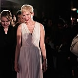 Michelle Williams in Japan for My Week With Marilyn.