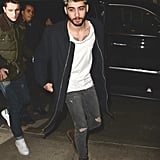 Just for reference, this is what Zayn wore. Their outfits pair well together, no?