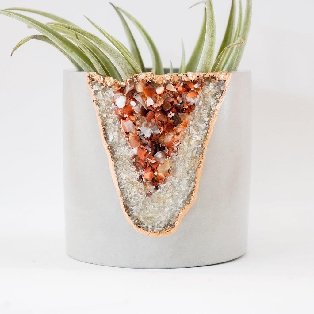 Raw Crystal Planter