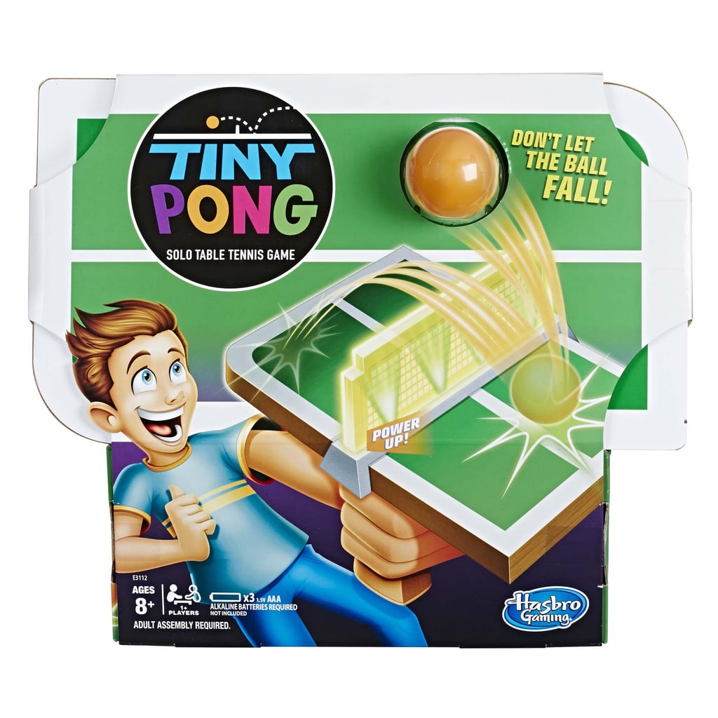 For 8-Year-Olds: Tiny Pong Solo Table Tennis Game