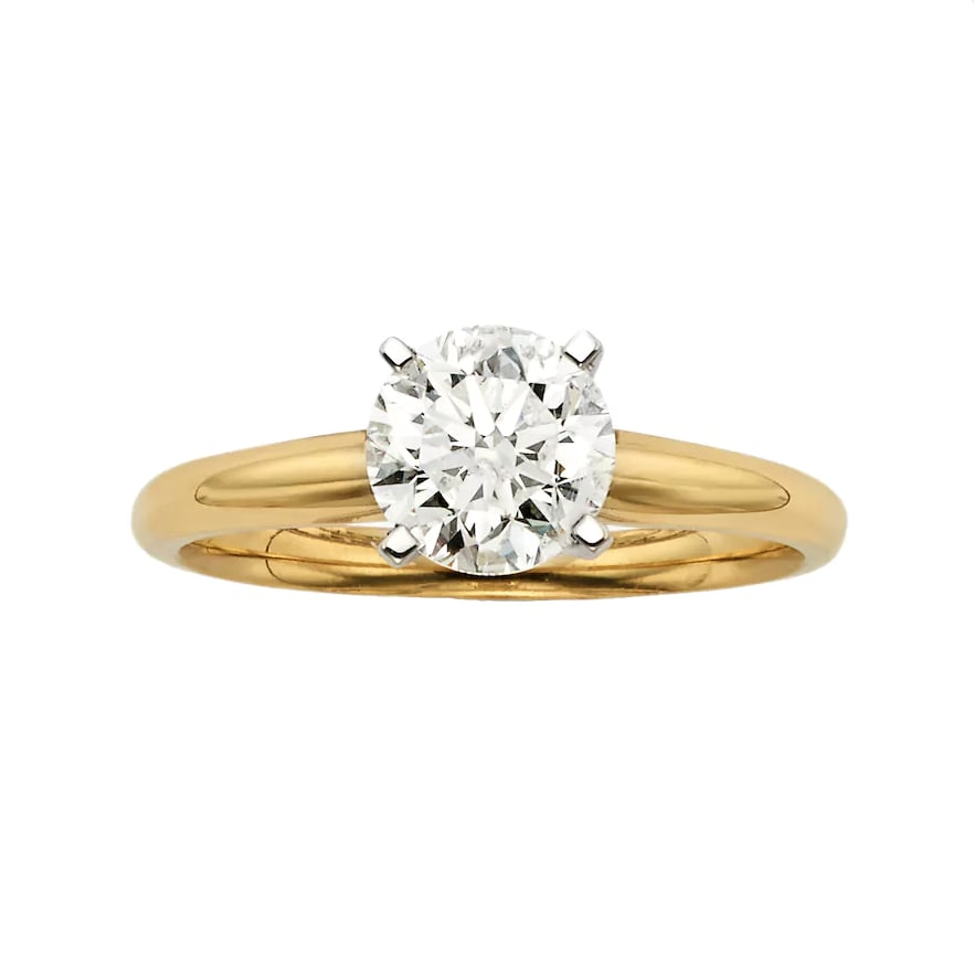 Kohl's Diamond Engagement Ring