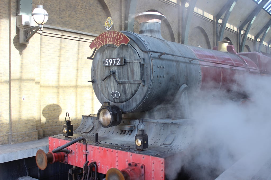 The Hogwarts Express does different things depending on which direction you take it.
