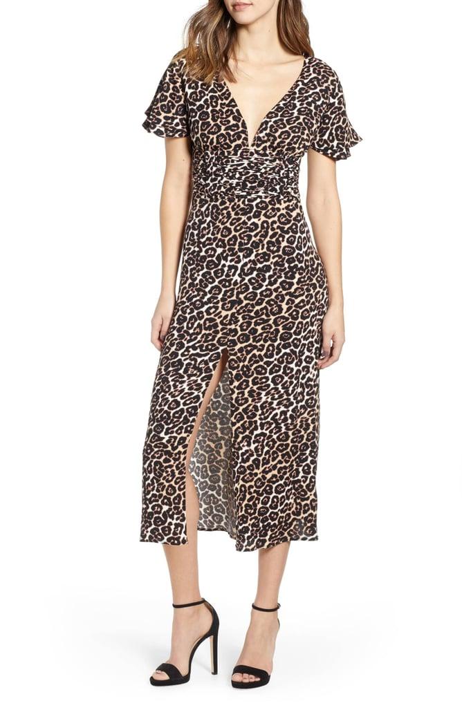eb587e97c411 AFRM Carmen Corset Detail Print Dress   Best Leopard Print Dresses ...