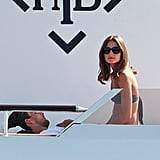 Olivia Palermo and boyfriend Johannes Huebl spent quality time together.