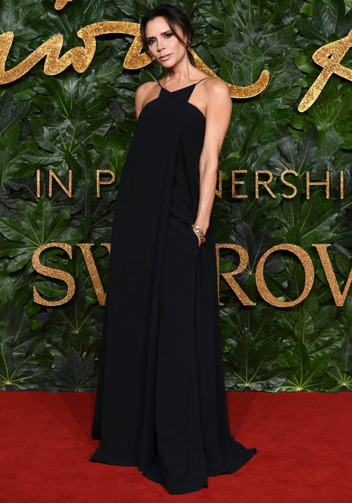 66f47502cf6 Victoria Beckham at the British Fashion Awards December 2018 ...