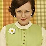 Elisabeth Moss as Peggy Olson.
