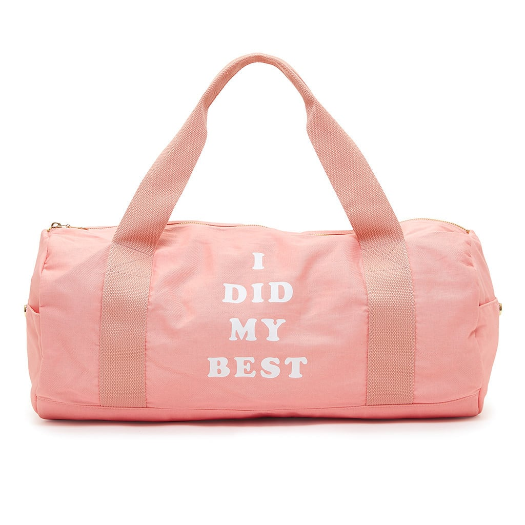 "Ban.do ""I Did My Best"" Work It Out Gym Bag"