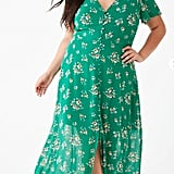 Forever 21 Plus Size Button-Down Floral Dress