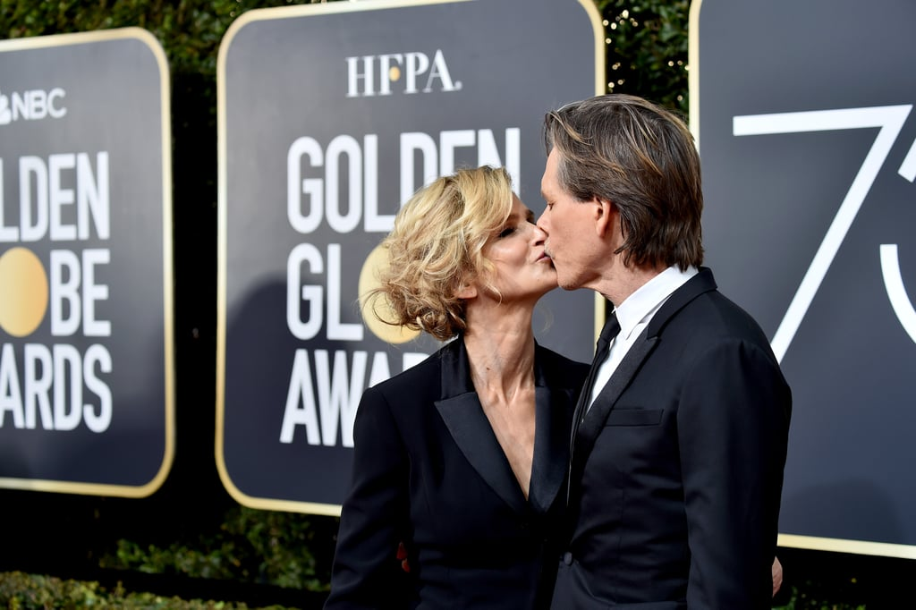 Pictured: Kyra Sedgwick and Kevin Bacon