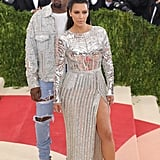 Kim and Kanye Twinning at the Met Gala