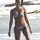 Jessica Alba Flaunts Her Bikini Body in Mexico