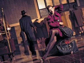 Fab Ad: Kate Moss for Donna Karan Fall/Winter '08