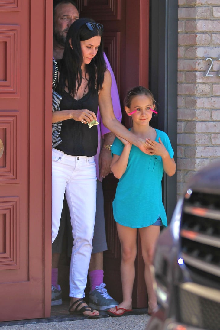 Courteney Cox and daughter Coco Arquette checked out ...