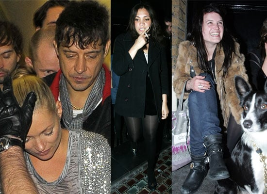 20/03/2009 Kate Moss, Alison Mosshart, Miquita Oliver, Jamie Hince