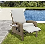 Outsunny Rattan Wicker Outdoor Adjustable Recliner Lounge Chair