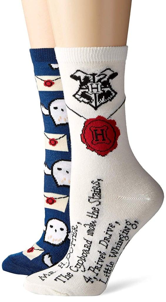 Harry Potter Hedwig Crew Socks