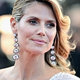 Heidi Klum wore a pair of stunning Lorraine Schwartz earrings.