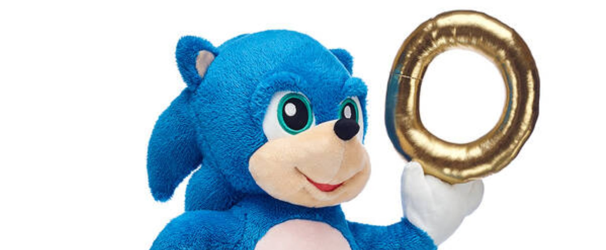 Sonic The Hedgehog Build A Bear Popsugar Family