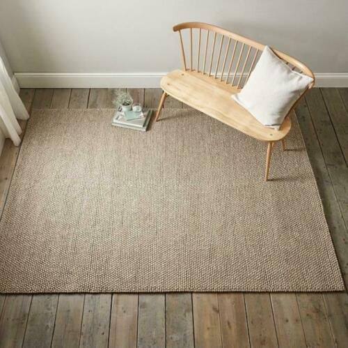 The White Company Hampton Looped Wool Medium Rug
