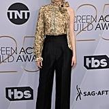 Emma Stone at the 2019 SAG Awards