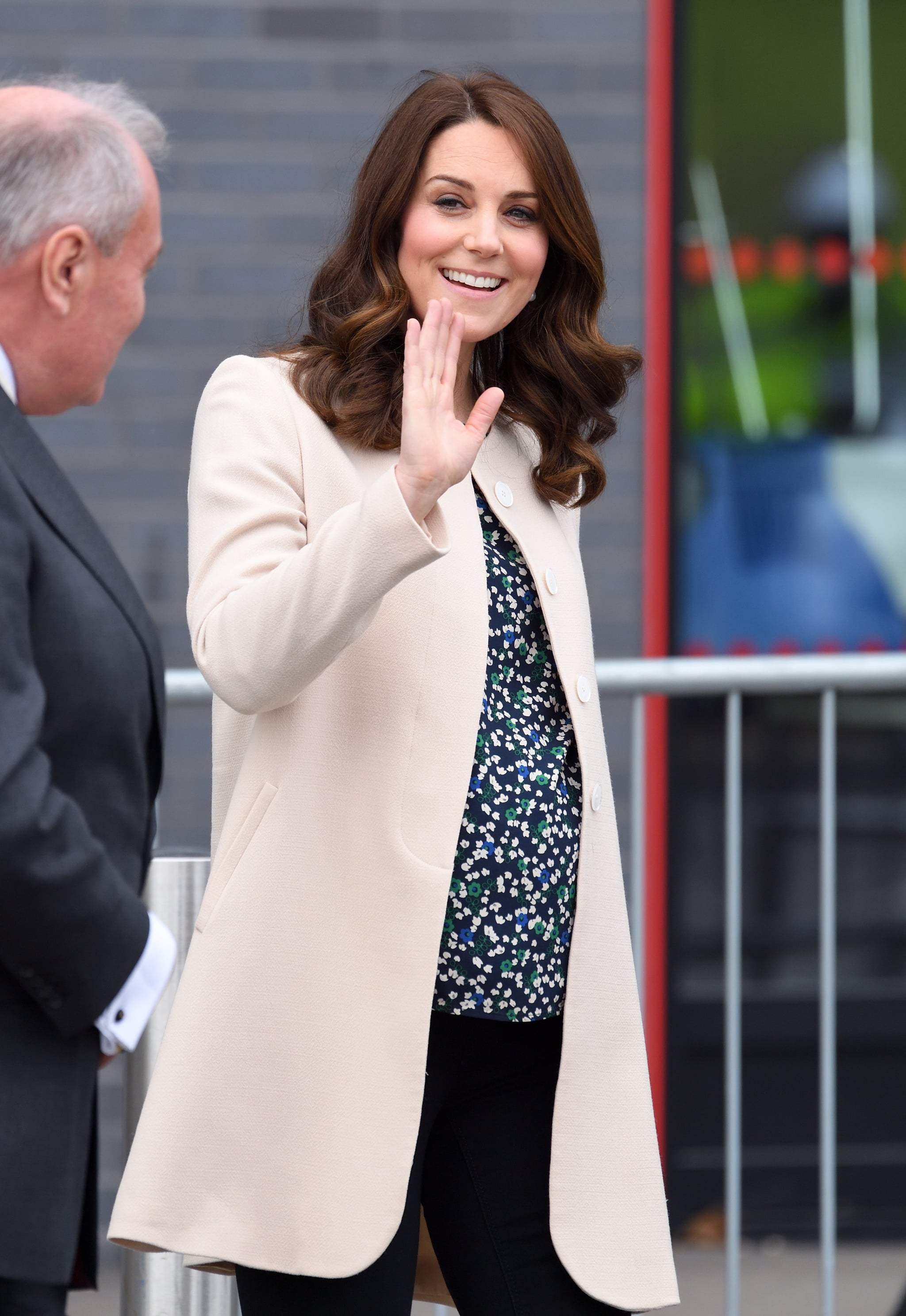 LONDON, ENGLAND - MARCH 22:  Catherine, Duchess of Cambridge visits SportsAid to undertake engagements celebrating the Commonwealth at the Copperbox Arena on March 22, 2018 in London, England.  (Photo by Karwai Tang/WireImage)