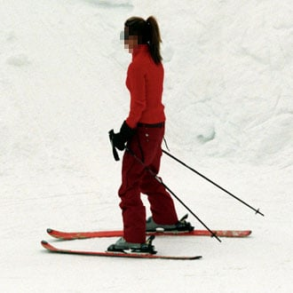 Pictures of Celebrities Skiing