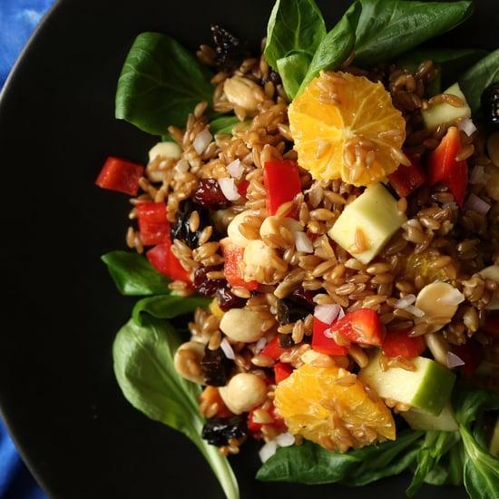 Quinoa und Dinkel im Vergleich